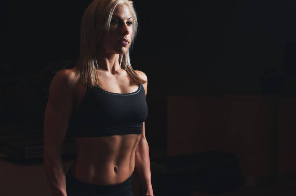 Woman with Toned Waist