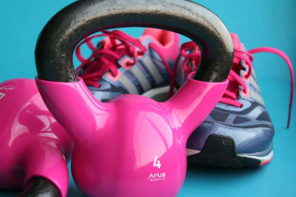 Pink Kettle Bell