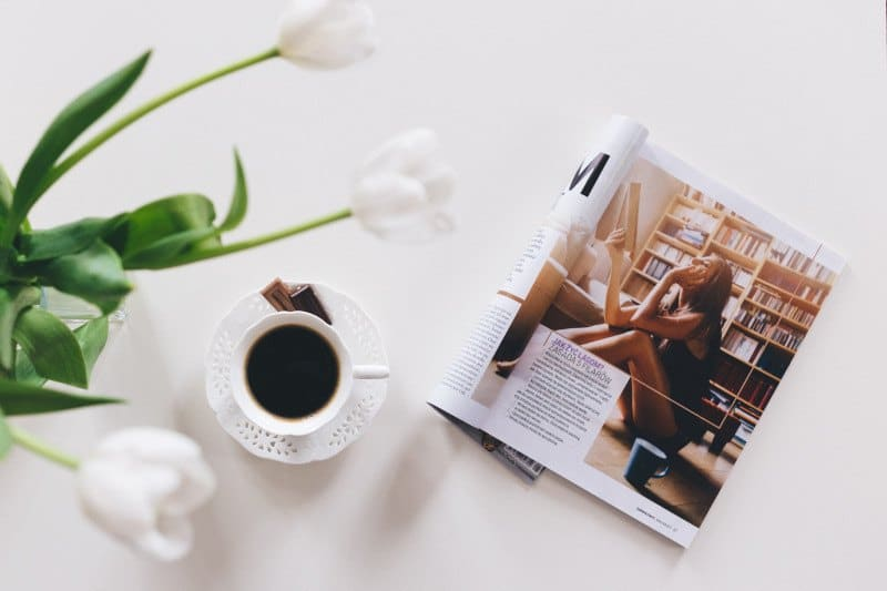 Coffee and A Fashion Magazine